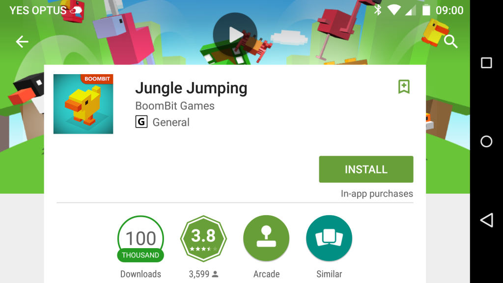 jungle jumping